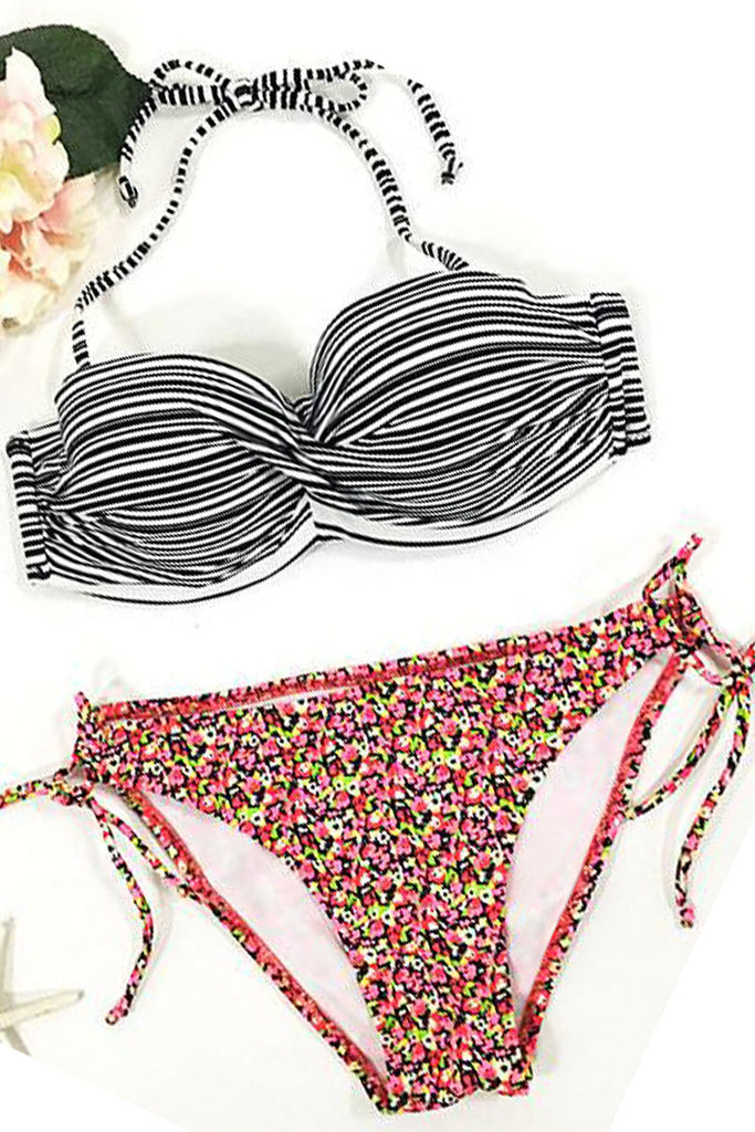 Cupshe Here Comes the Sun Bikini Set