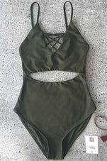 Cupshe Spider Web One-piece Swimming Suit
