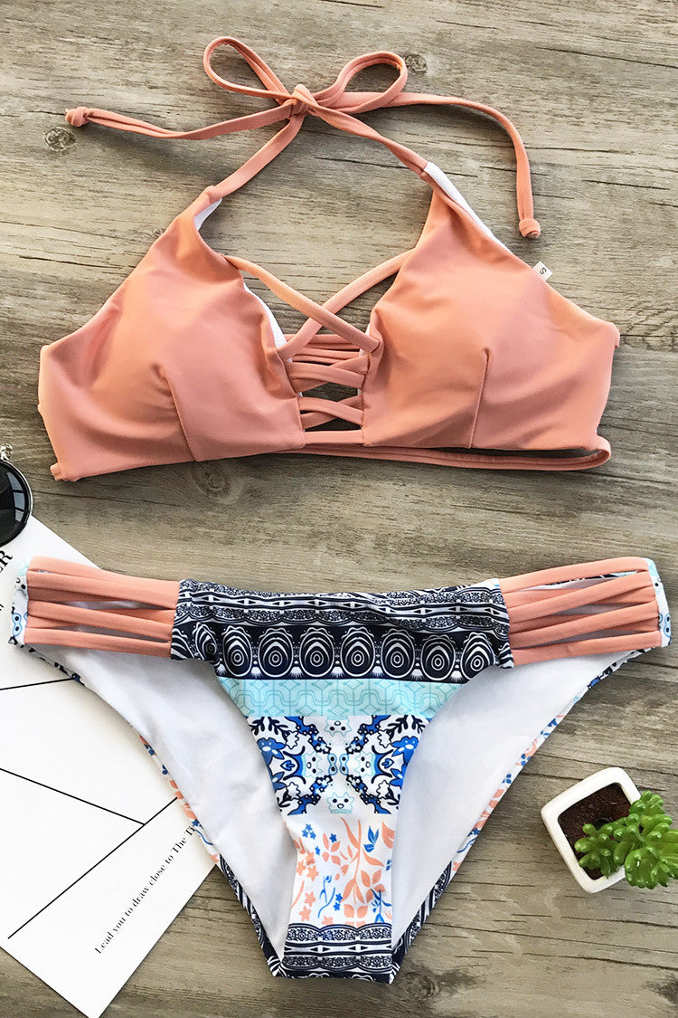 Cupshe Fresh Air Print Bikini Set