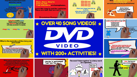 GrammarSongs DVD Learning Bundle