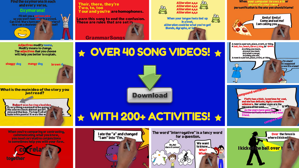 GrammarSongs Digital Learning Bundle