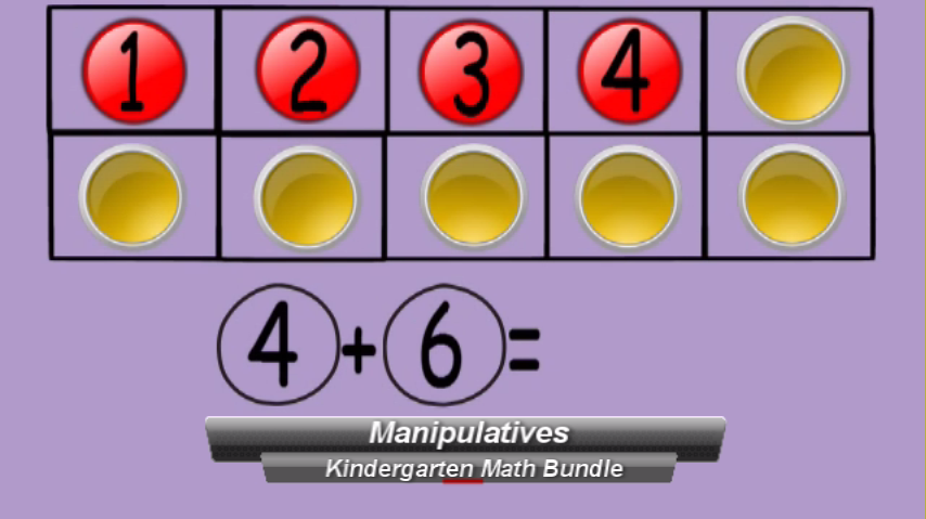 Kindergarten Math: Music Videos & Activities Growing Bundle