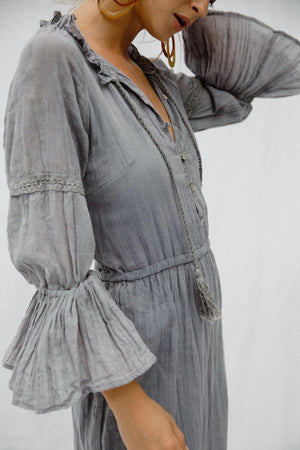 Smokey Quartz Maxi Dress