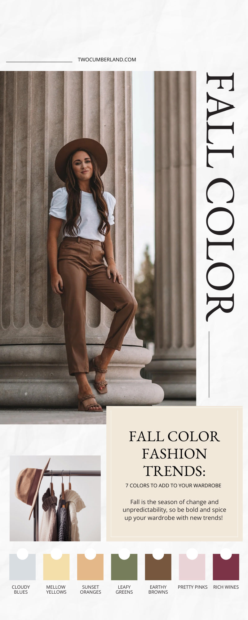 Fall Color Fashion Trends: 7 Colors To Add to Your Wardrobe