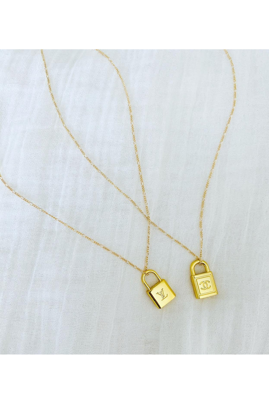 Designer Lock Necklace