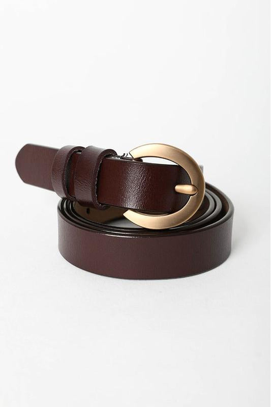 Gold Buckle Waist Belt