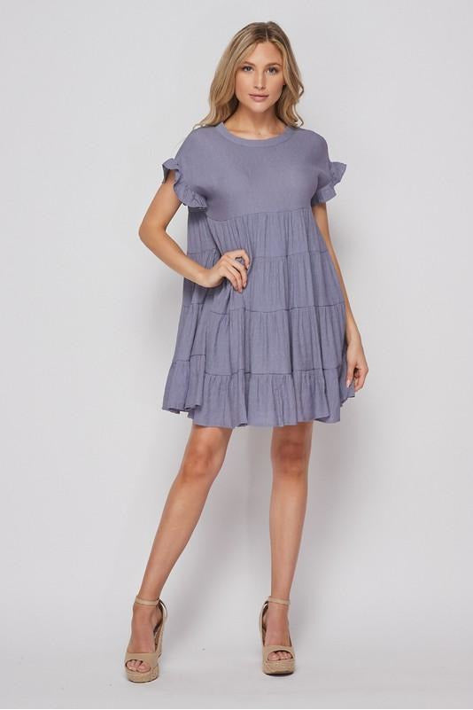 Tiered Baby Doll Dress