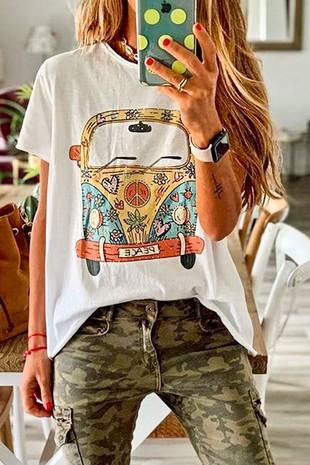 VW Love Bus Graphic Tee