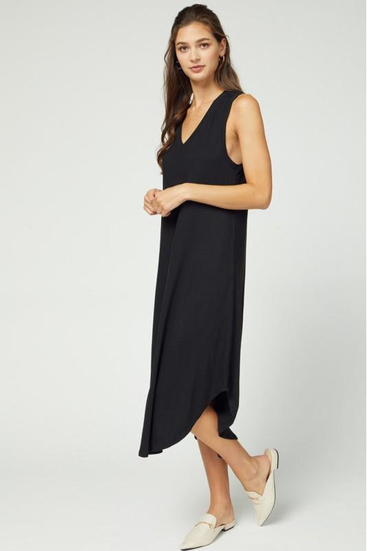 Highs & Lows Midi Dress