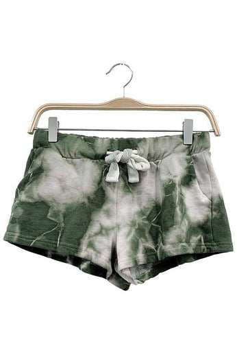 Cloud Drop Tie Dye Shorts