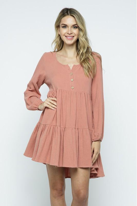 Blush Mini Dress