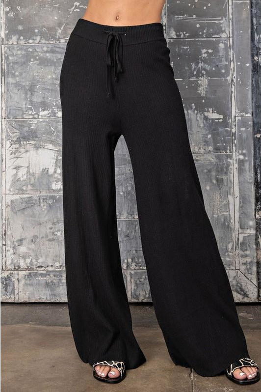 Pull Some String Wide Leg Pants