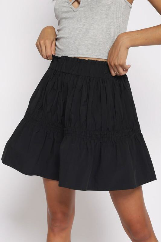 Rainy Days Mini Skirt