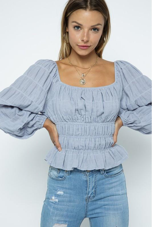 In-crepe-able Top