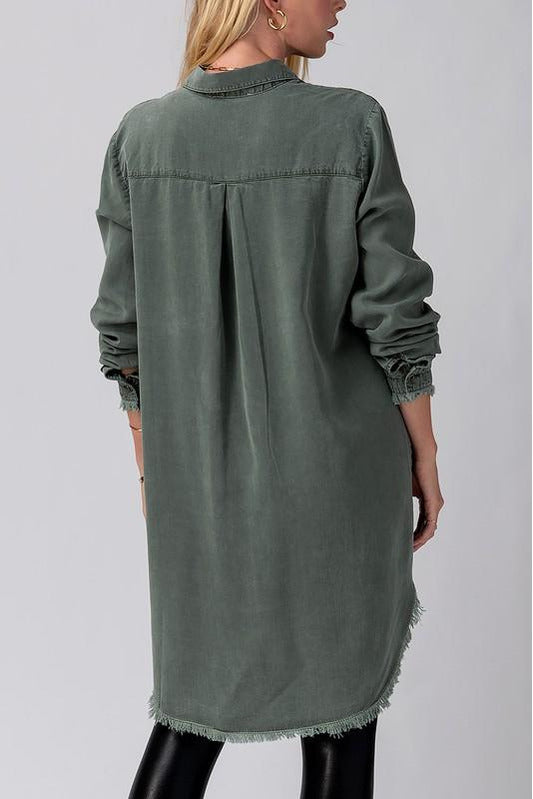 Tencel Me Down Dress