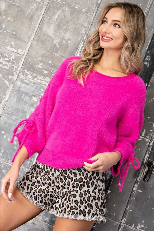 Let's Party Pink Sweater