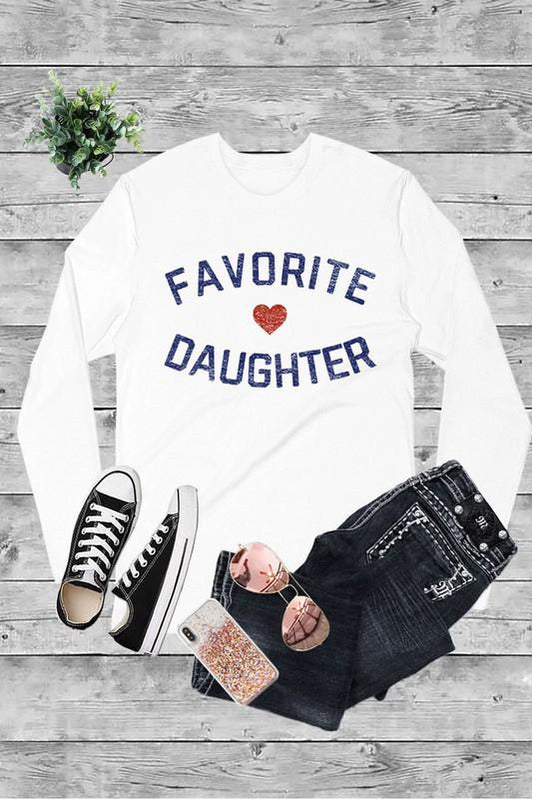 Favorite Daughter LS Tee