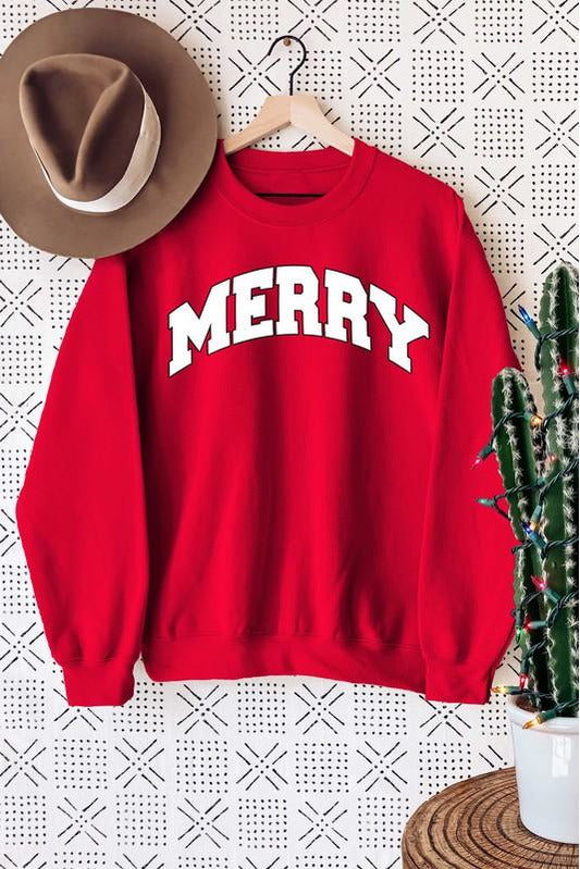 Merry Graphic Sweatshirt