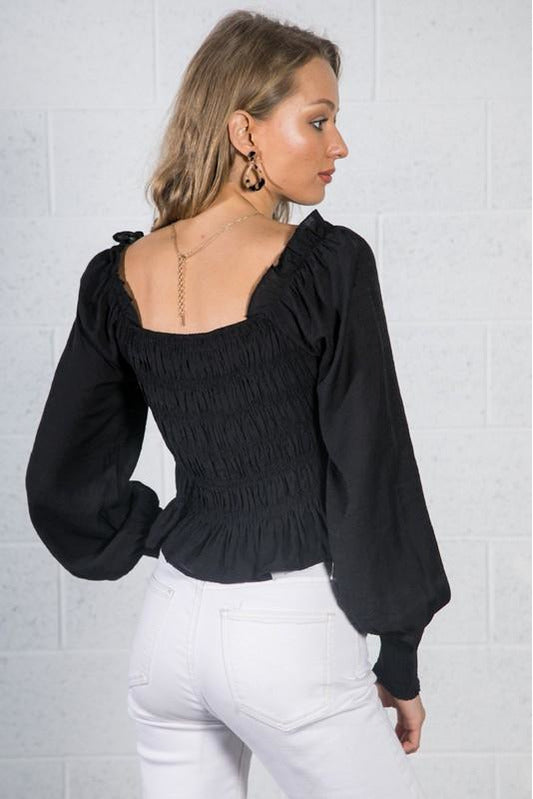Alice Puff Sleeve Top