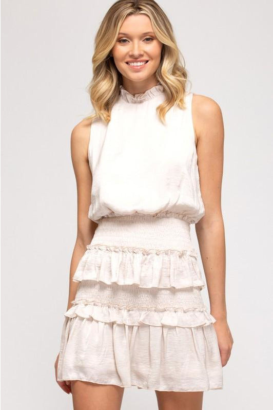 The Ruffle is Real Mini Dress