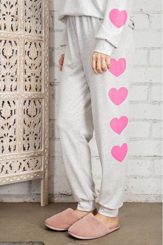 Wear Your Heart on Your on your Sleeve Set Pants