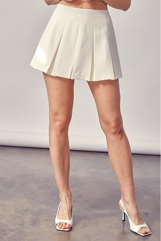 Off the Court Mini Tennis Skirt