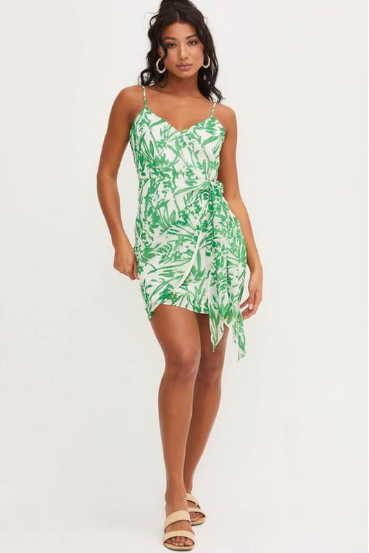 Sunday Greens Dress