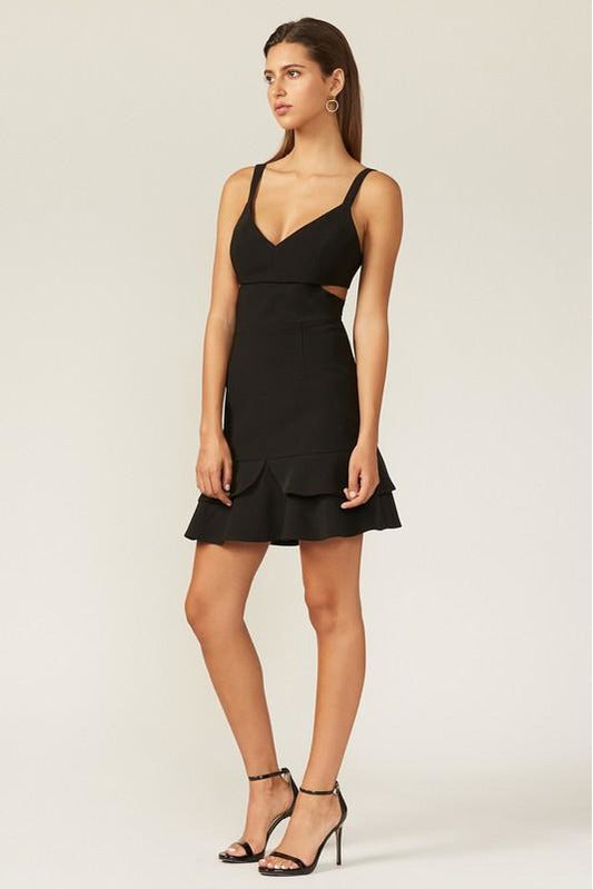 Christel Mini Crepe Dress