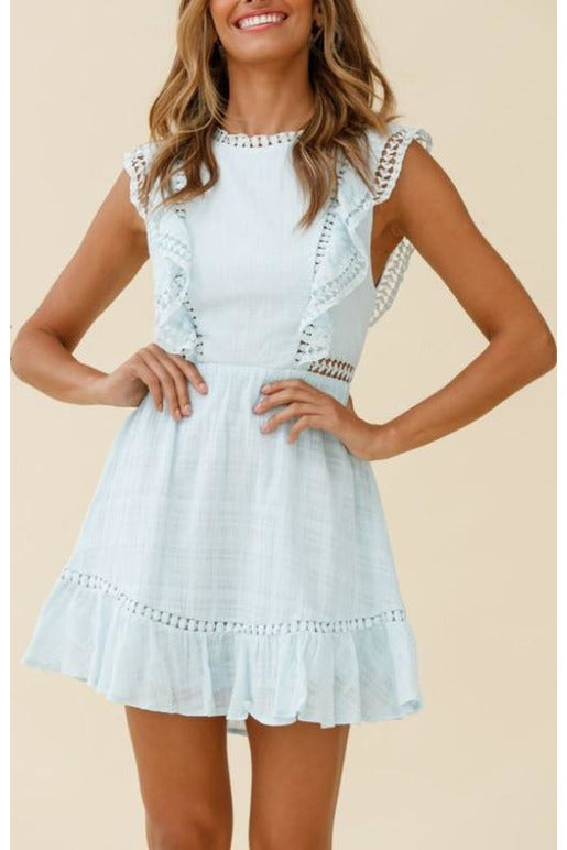 Reign Lace-Up Dress
