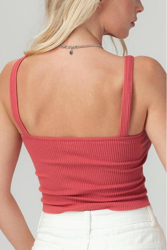 Seamless Rib Knit Cami