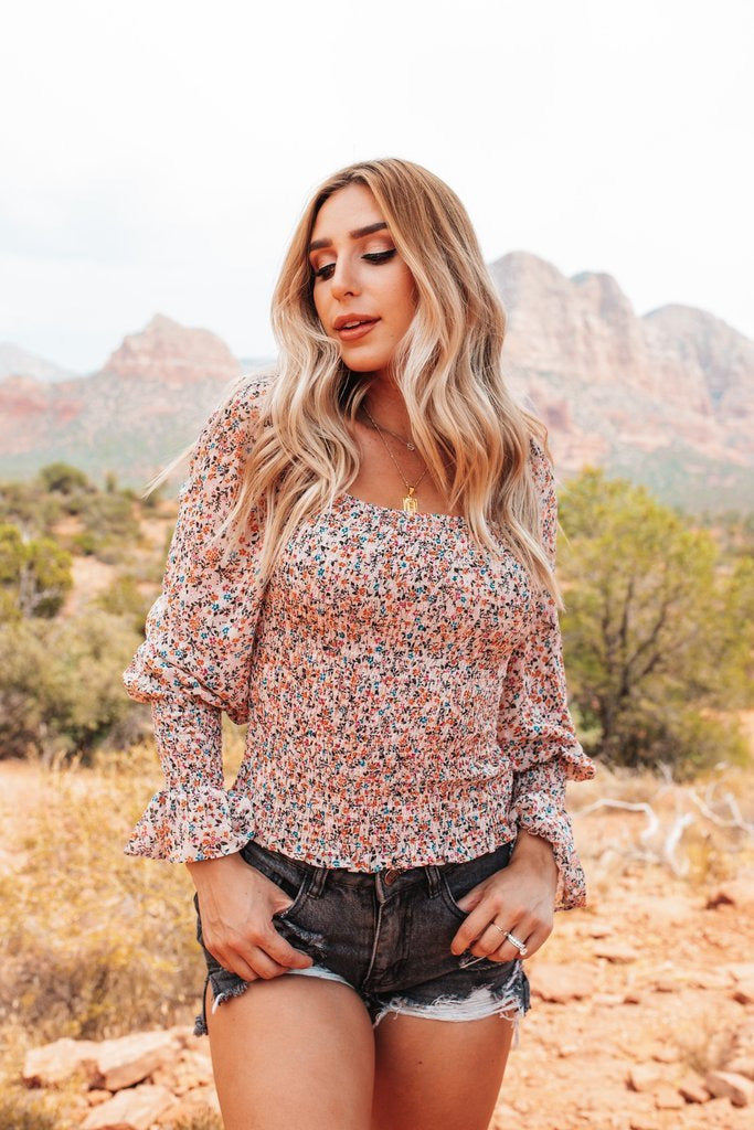 Cassie Bouquet Top