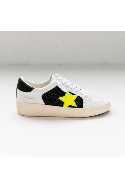 Neon Star Stride Sneakers