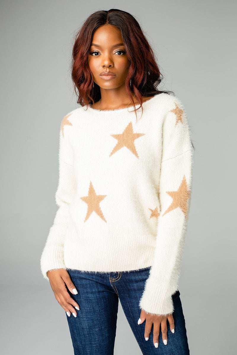Ivory Spears Sweater