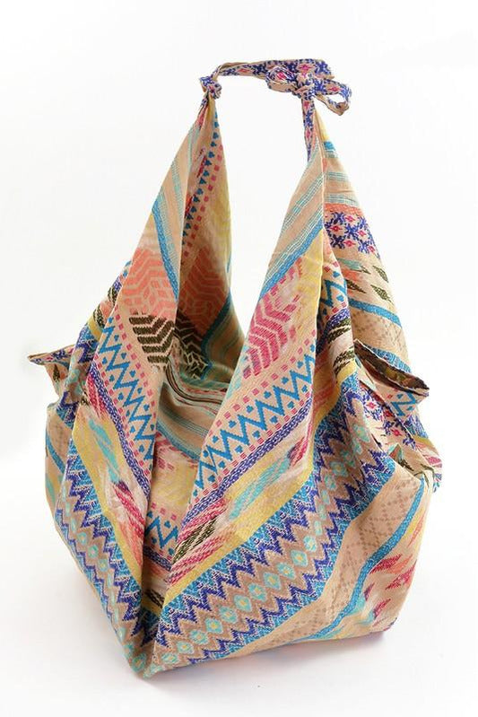 Multi Pattern Boho Bag