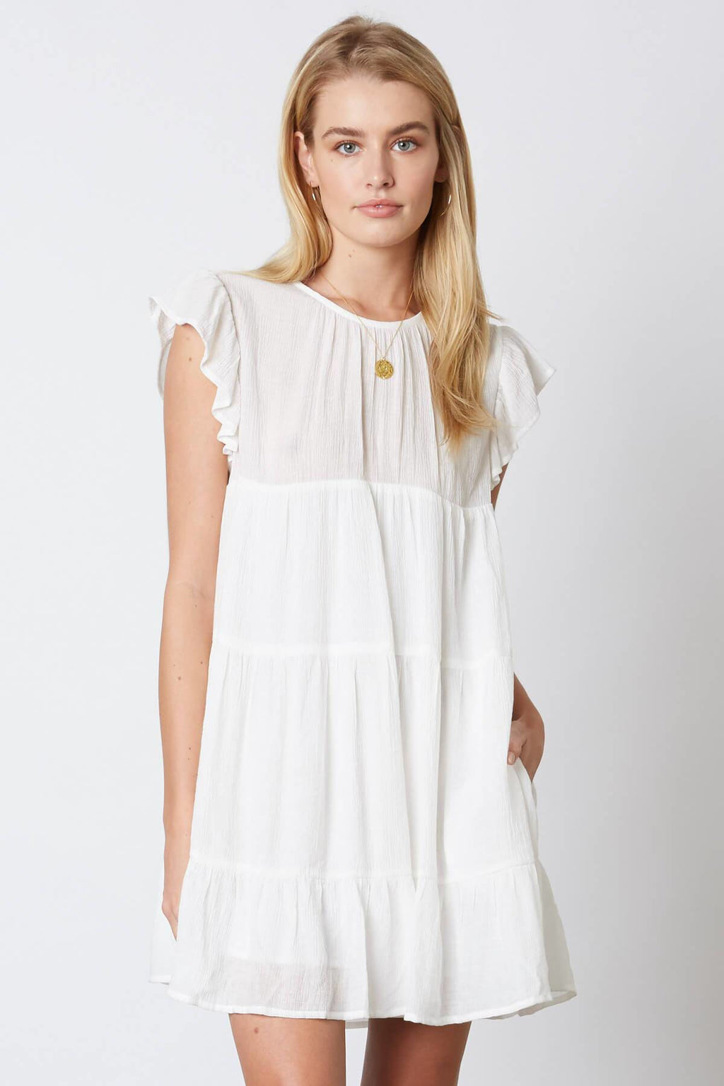 White Baby Doll Dress