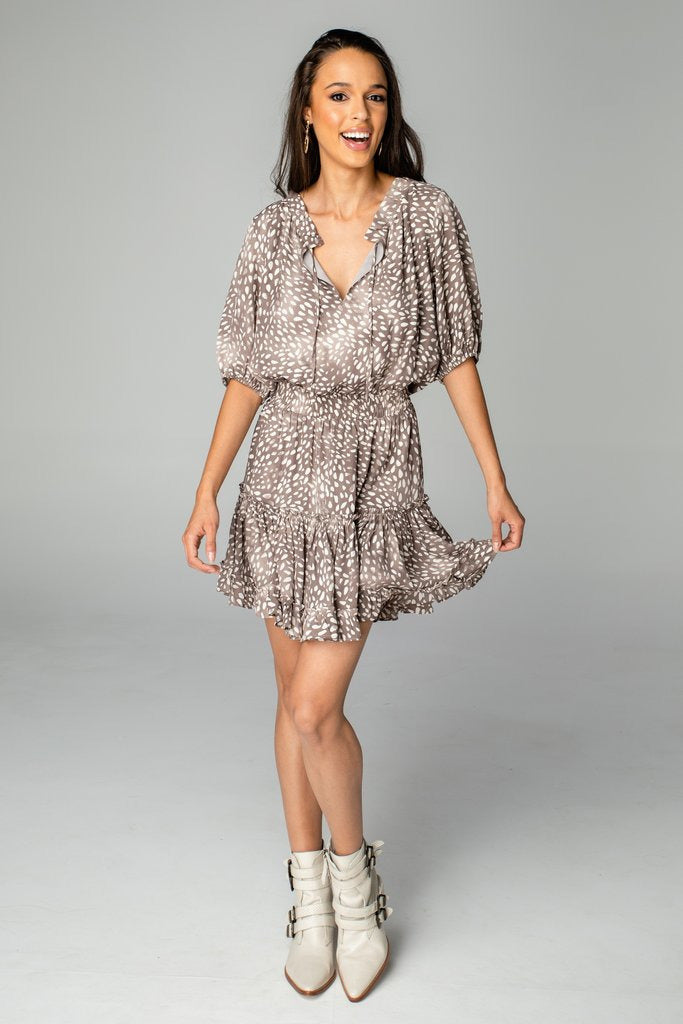 Ray Flurry Dress