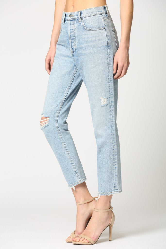 Tracey High Rise Straight Jean