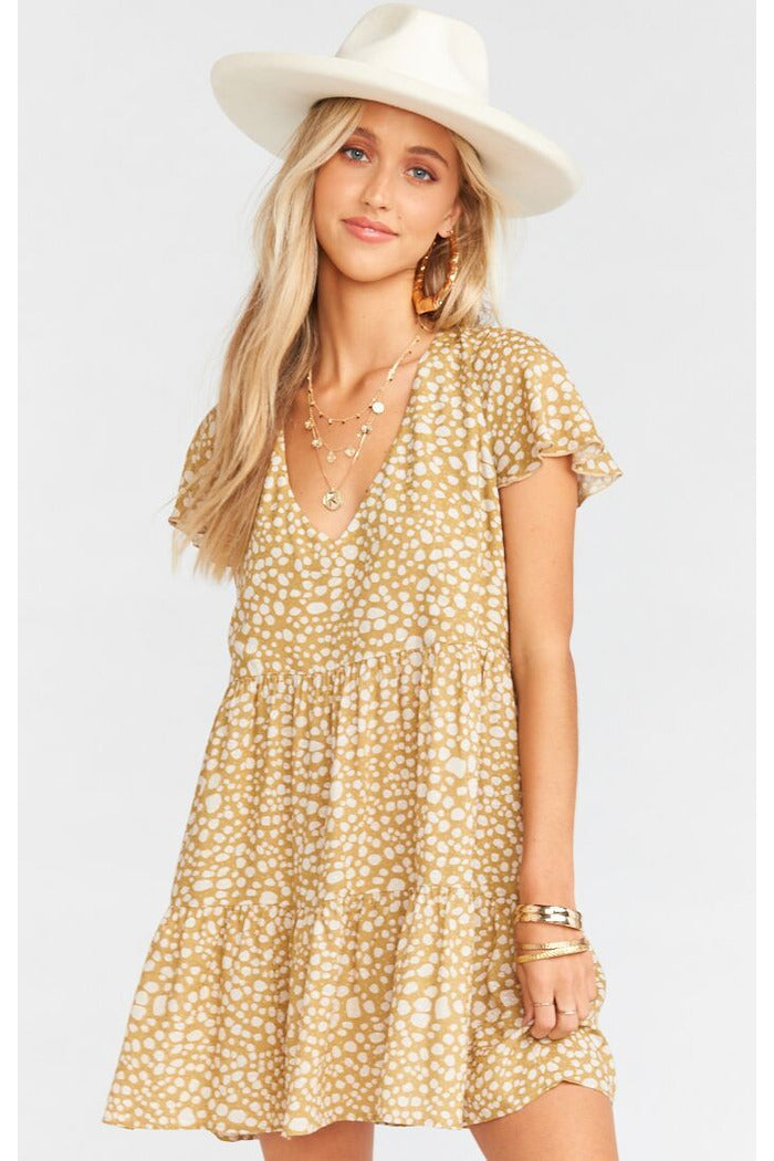 Desert Cheetah Cia Mini Dress