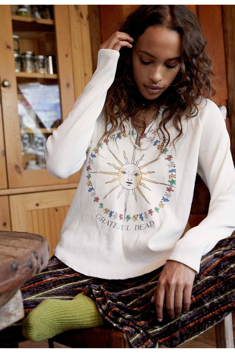 Grateful Dead Anthum Of The Sun Raglan Thermal