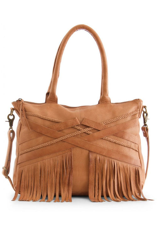 Day and Mood Loreen Satchel - Cognac