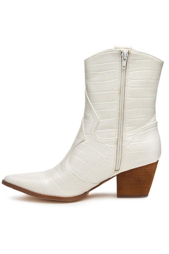 Bambi White Boots