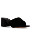 Harley Block Heel Sandal in Black