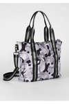 Grey Camo Black Stripe Tote