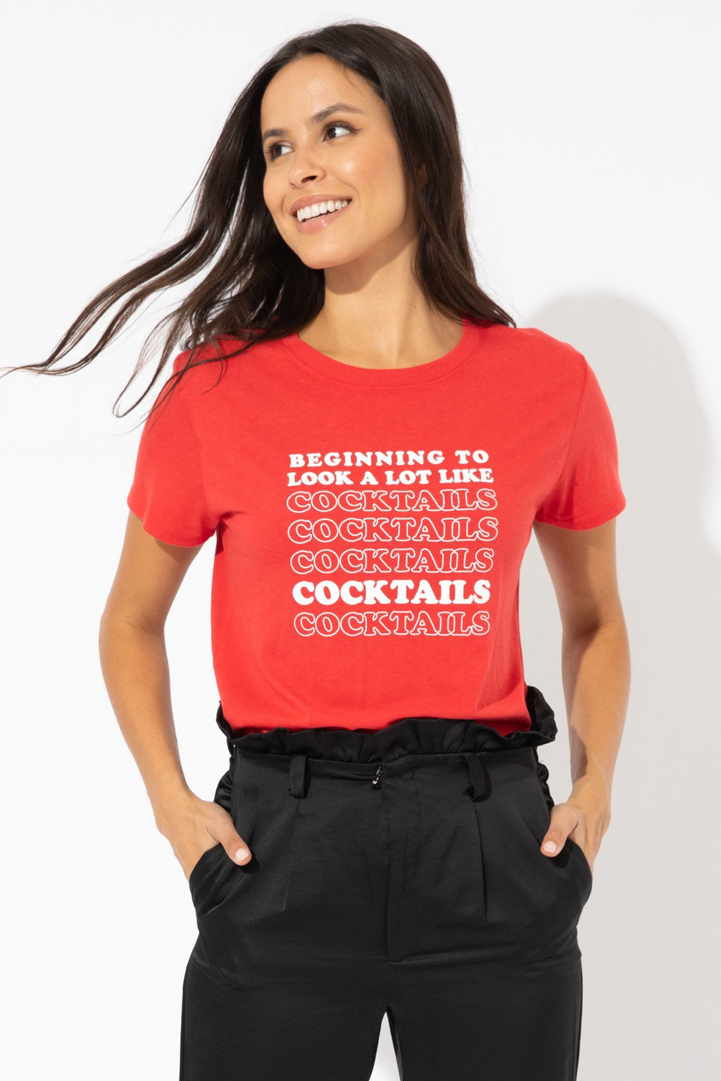 Beginning To Look A  Lot Like Coctails Tee