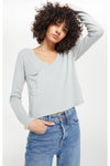 Mina Slub Long Sleeve Tee