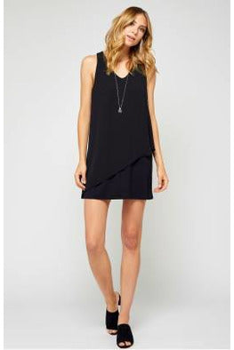 Brianna Black Dress - Gentle Fawn