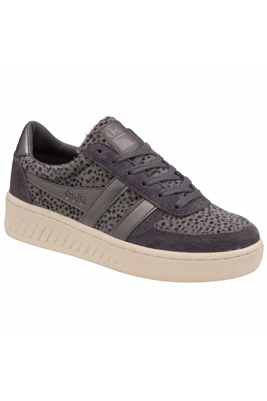Gola Grandslam Savanna Cheetah Sneakers -- Pewter