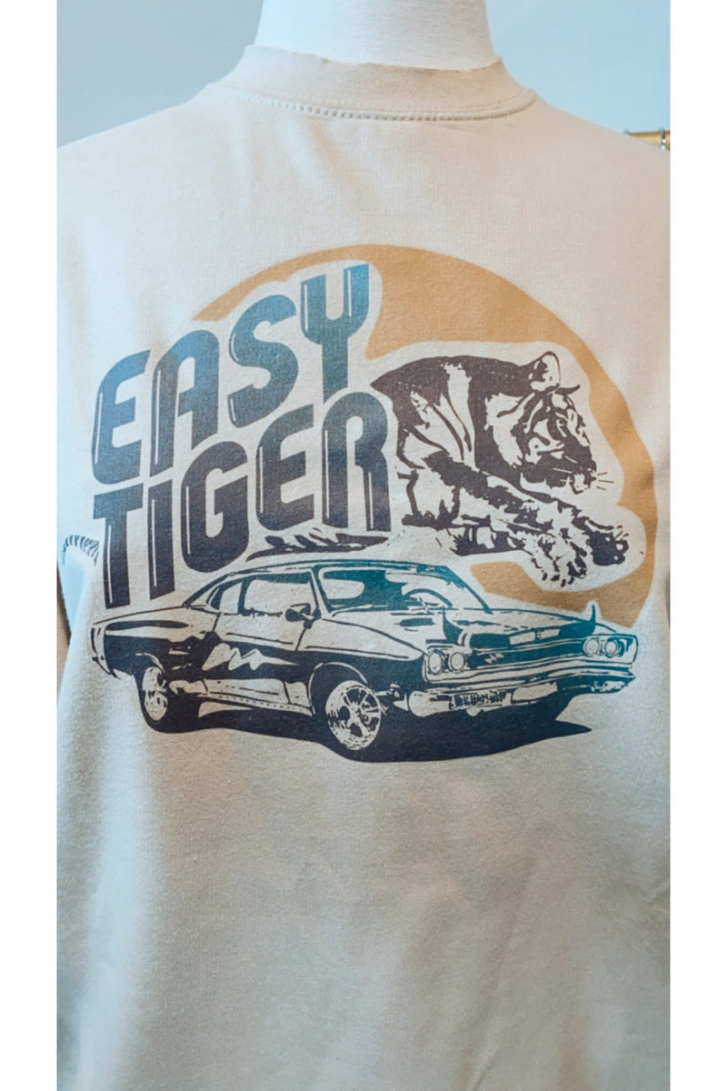 Mamie Ruth Easy Tiger Sweatshirt