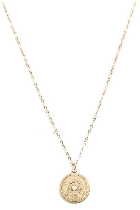 Farrah B Zodiac Necklace