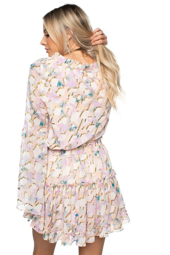 Zozo Magical Bell Sleeve Dress